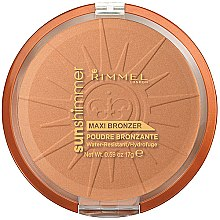 Voňavky, Parfémy, kozmetika Púder na tvár - Rimmel Sunshimmer Maxi Bronzer