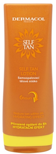 Samoopaľovacie mlieko na telo - Dermacol Sun Self Tan Lotion