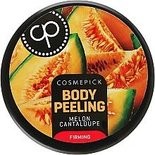 Voňavky, Parfémy, kozmetika Peeling pre pružnosť tela s vôňou šťavnatej dyne - Cosmepick Body Peeling Melon Cantaloupe