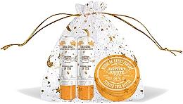 Voňavky, Parfémy, kozmetika Sada - Institut Karite Almond Honey (butter/10ml + lipstick/2x4g)