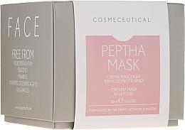 Voňavky, Parfémy, kozmetika Nočná krémová maska na tvár a krk s brusnicovým extraktom - Surgic Touch Peptha Mask