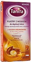 Voňavky, Parfémy, kozmetika Depilačný vosk na bikiny s arganovým olejom - Tanita (12 plastin)