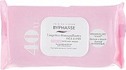 Voňavky, Parfémy, kozmetika Čistiace obrúsky na tvár, 40ks - Byphasse Make-up Remover Wipes Milk Proteins All Skin Types