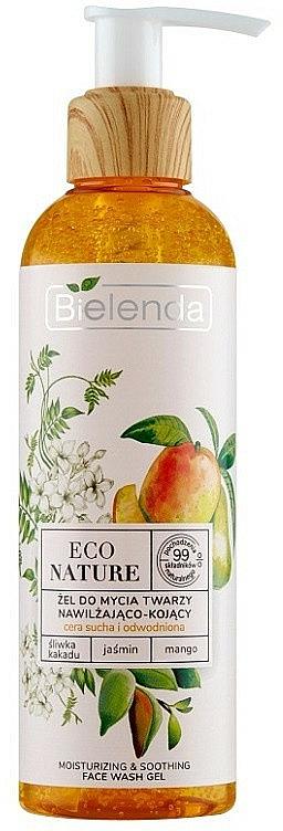 Čistiaci gél na tvár - Bielenda Eco Nature Kakadu Plum, Jasmine and Mango