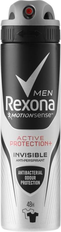 """Deodorant v spreji pre """"Čierne a biele"""" - Rexona Men Active Protection+ 48H Anti-Perspirant Spray"""