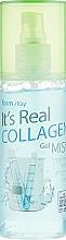 Voňavky, Parfémy, kozmetika Gélová hmla na tvár s kolagénom - FarmStay It's Real Collagen Gel Mist