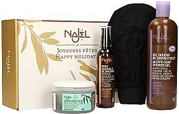 Voňavky, Parfémy, kozmetika Sada - Najel (soap/180g + b/oil/125ml + sh/gel/500ml + acc)