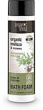"""Voňavky, Parfémy, kozmetika Kúpeľová pena """"Pružnosť pleti. Provensálske byliny"""" - Organic Shop Organic Melissa and Rosemary Antistress Bath Foam"""