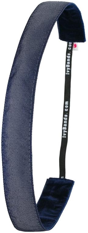 Čelenka, denim - Ivybands Jeans Denim Hair Band — Obrázky N1