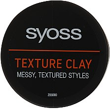 Voňavky, Parfémy, kozmetika Textúrovaná hlina na vlasy - Syoss Texture Clay