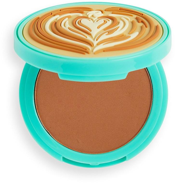 Bronzer na tvár - I Heart Revolution Tasty Coffee Bronzer