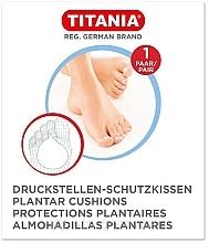 Voňavky, Parfémy, kozmetika Ochranná podložka na nohy proti tlaku, 1 pár - Titania Plantar Cushions