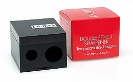 Voňavky, Parfémy, kozmetika Dvojitá orezávačka na ceruzky, čierna - Pupa Double Pencil Sharpener