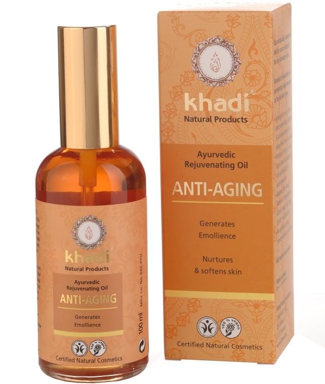 "Olej na tvár a telo ""Anti-Aging"" - Khadi"