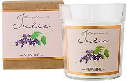 "Voňavky, Parfémy, kozmetika Vonná sviečka ""Verbena"" - Ambientair Le Jardin de Julie Verveine"