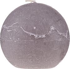 Voňavky, Parfémy, kozmetika Prírodná sviečka, guľa, 12 cm, šedá - Ringa Grey Candle
