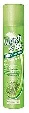Voňavky, Parfémy, kozmetika Suchý šampón pre mastné vlasy s extraktom z aloe - Wash&Go