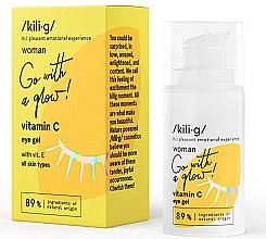 Voňavky, Parfémy, kozmetika Gél na oči s obsahom vitamínu C - Kili·g Woman Eye Gel