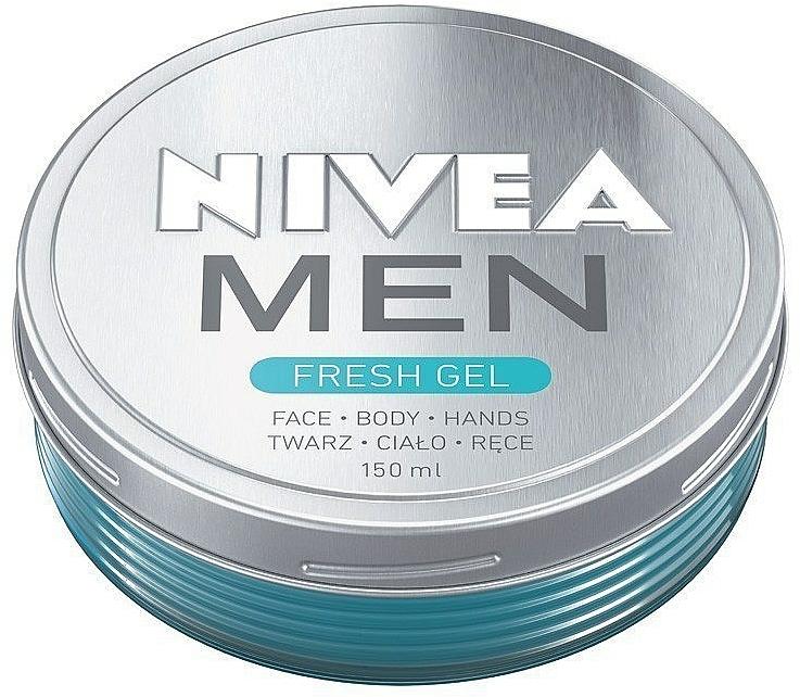 Hydratačný krémový gél na tvár a telo - Nivea Men Fresh Gel