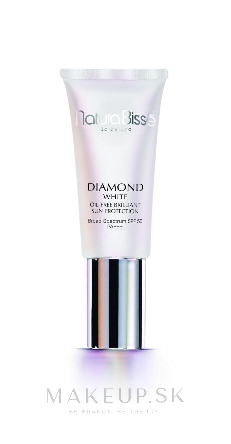 Rozjasňujúci ochranný krém - Natura Bisse Diamond White SPF 50 +++ Oil Free Brilliant Protection — Obrázky 30 ml