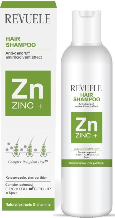 Šampón na vlasy proti lupinám - Revuele Zinc+ Hair Shampoo