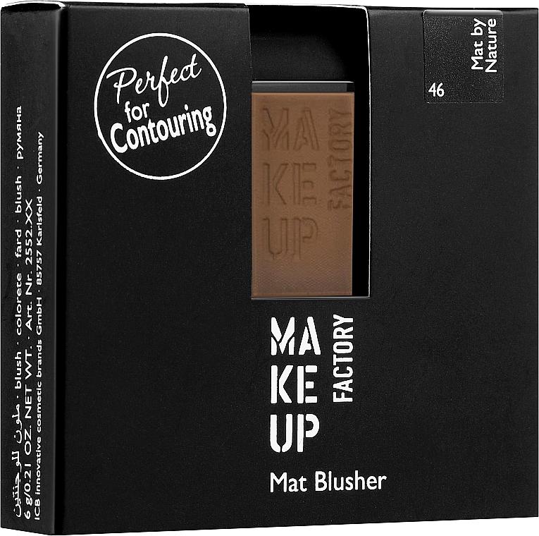 Matná lícenka - Make Up Factory Mat Blusher