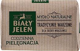 Voňavky, Parfémy, kozmetika Hypoalergénne prírodné mydlo - Bialy Jelen Hypoallergenic Natural Soap Premium