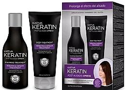 Voňavky, Parfémy, kozmetika Sada - Kativa Keratin (shm/250ml + cond/200ml)