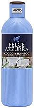 Voňavky, Parfémy, kozmetika Sprchový gél - Felce Azzurra Coconut and Bamboo Body Wash