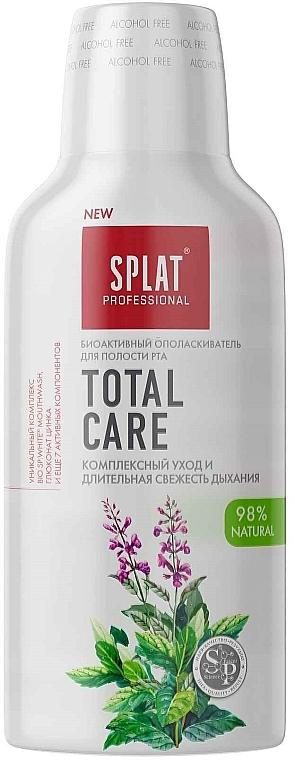 """Antibakteriálna ústna voda """"Komplexná starostlivosť a dlhotrvajúca sviežosť dychu"""" - SPLAT Total Care"""