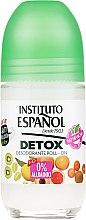 Voňavky, Parfémy, kozmetika Guličkový deodorant na telo - Instituto Espanol Detox Deodorant Roll-on