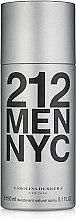 Voňavky, Parfémy, kozmetika Carolina Herrera 212 MEN NYC - Dezodorant