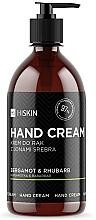 "Voňavky, Parfémy, kozmetika Krém na ruky ""Bergamot a rebarbora "" - HiSkin Bergamot & Rhubarb Hand Cream"