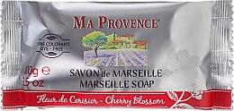 """Voňavky, Parfémy, kozmetika Mydlo tvrdé marseillské """"Višňové kvety"""" - Ma Provence Marseille Soap Cherry Blossom"""