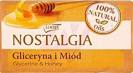 "Voňavky, Parfémy, kozmetika Mydlo ""Glycerín a medové mydlo"" - Luksja Nostalgia Glycerin & Honey Soap"