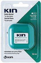 Voňavky, Parfémy, kozmetika Zubná niť - Kin Dental Floss With Wax Minty