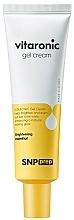Voňavky, Parfémy, kozmetika Krémový gél na žiarenie pokožky tváre s vitamínom C - SNP Prep Vitaronic Gel Cream