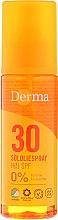 Voňavky, Parfémy, kozmetika Opaľovací sprej na telo - Derma Sun Sun Oil SPF30 High