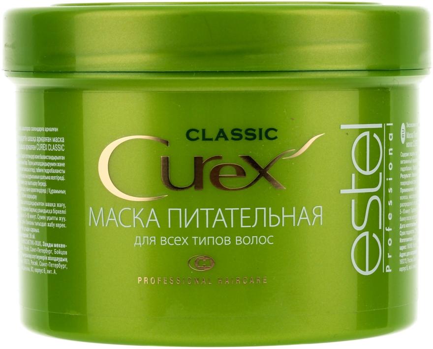 """Maska """"Výživná"""" pre všetky typy vlasov - Estel Professional Curex Classic"""