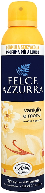 Osviežovač vzduchu - Felce Azzurra Vaniglia e Monoi Spray