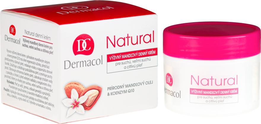 """Denný krém na tvár """"Mandľový"""" - Dermacol Natural Almond Day Cream"""