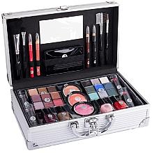 Voňavky, Parfémy, kozmetika Kozmetický kufor - Cosmetic 2K Fabulous Beauty Train Case Complete Makeup Palette