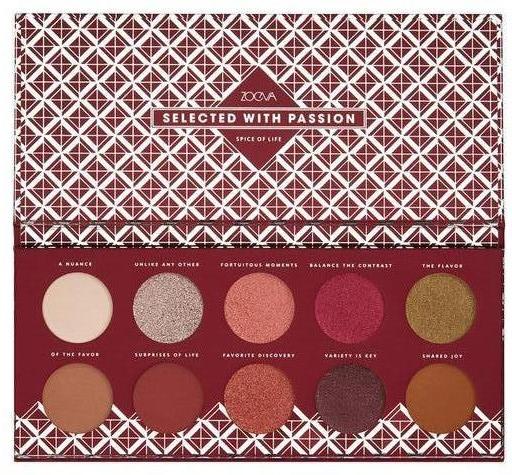 Paleta očných tieňov - Zoeva Spice Of Life Eyeshadow Palette
