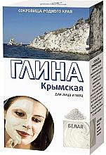 """Voňavky, Parfémy, kozmetika Hlina na tvár a telo """"Krymská"""", biela - Fito Cosmetic"""