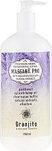 "Voňavky, Parfémy, kozmetika Mlieko na masáž ""Pina Colada"" - Oranjito Massage Pro Pina Colada Massage Body Milk"