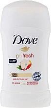 """Voňavky, Parfémy, kozmetika Tuhý dezodorant """"Jablko a biely čaj"""" - Dove Go Fresh Apple & White Tea Deodorant"""