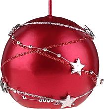 Voňavky, Parfémy, kozmetika Dekoratívna sviečka červená, 8cm - Artman Christmas Garland