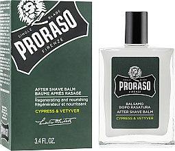 Voňavky, Parfémy, kozmetika Balzam po holení - Proraso Cypress & Vetiver After Shave Balm