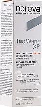 Voňavky, Parfémy, kozmetika Krém proti pigmentovým škvrnám - Noreva Laboratoires Trio White XP Anti-Dark Spot Care SPF 50+