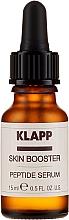 """Voňavky, Parfémy, kozmetika Sérový booster na tvár """"Peptidový"""" - Klapp Skin Booster Peptide Serum"""